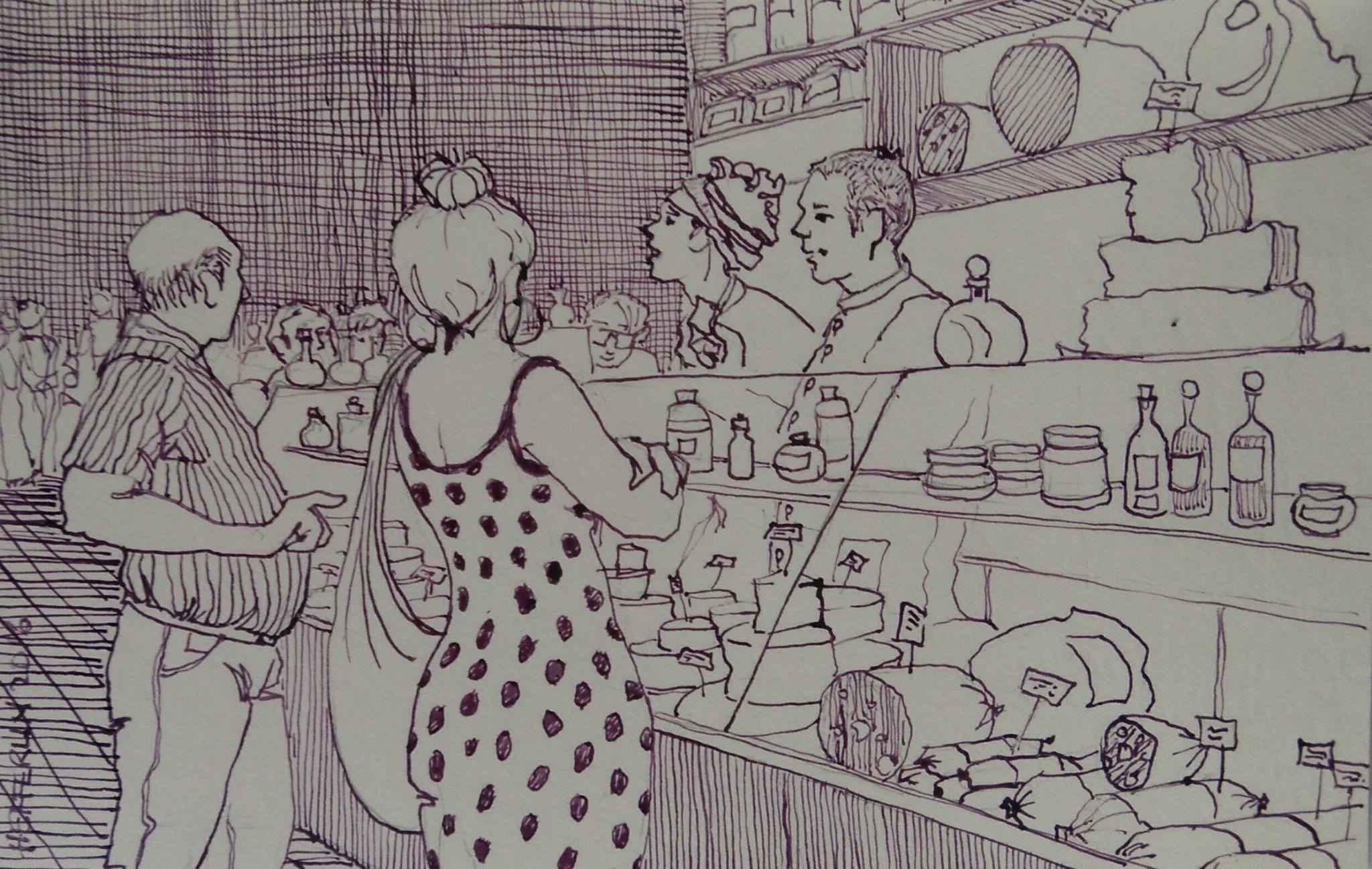 Delicatessen by  Melissa Hefferlin - Masterpiece Online