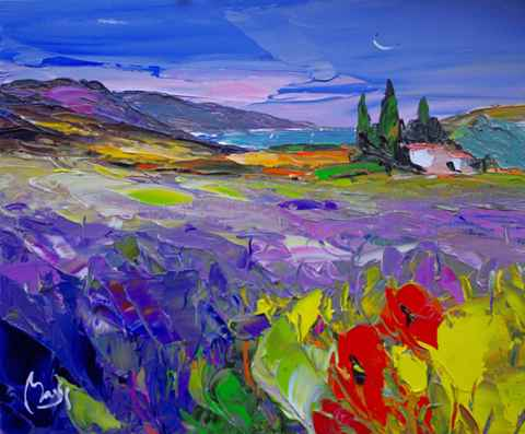 Fields of Color by  Louis  Magre - Masterpiece Online