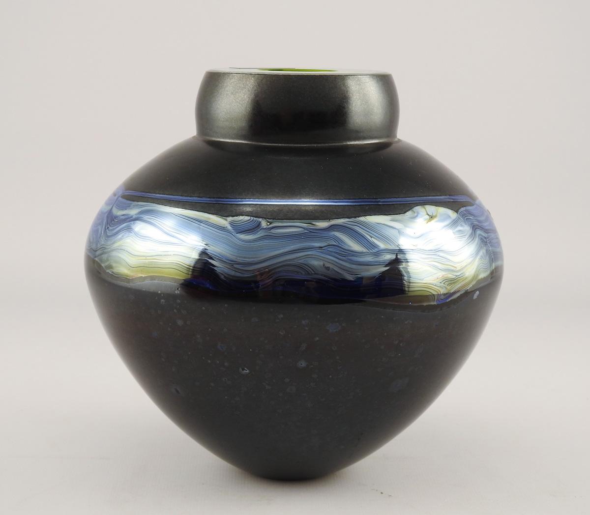 Emperor Bowl/Black Wi... by  Randi Solin - Masterpiece Online