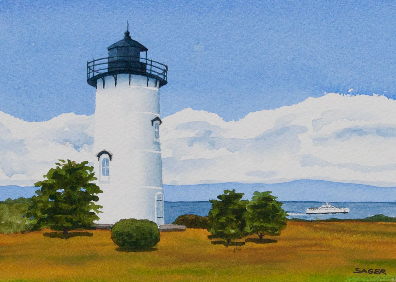 Afternoon Ferry by  Scott Sager - Masterpiece Online