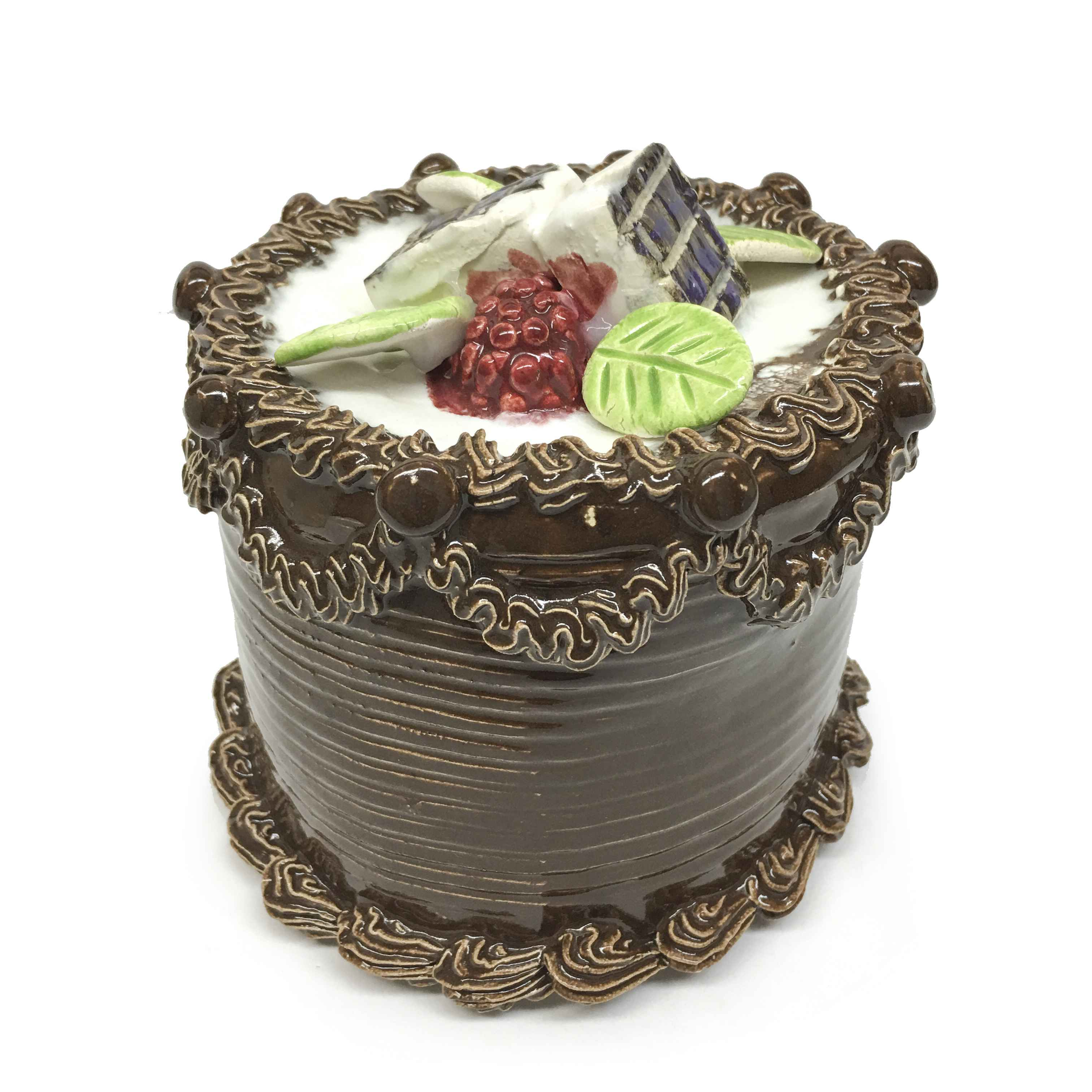 Chic Cake With Candy ... represented  by  Jeff Nebeker