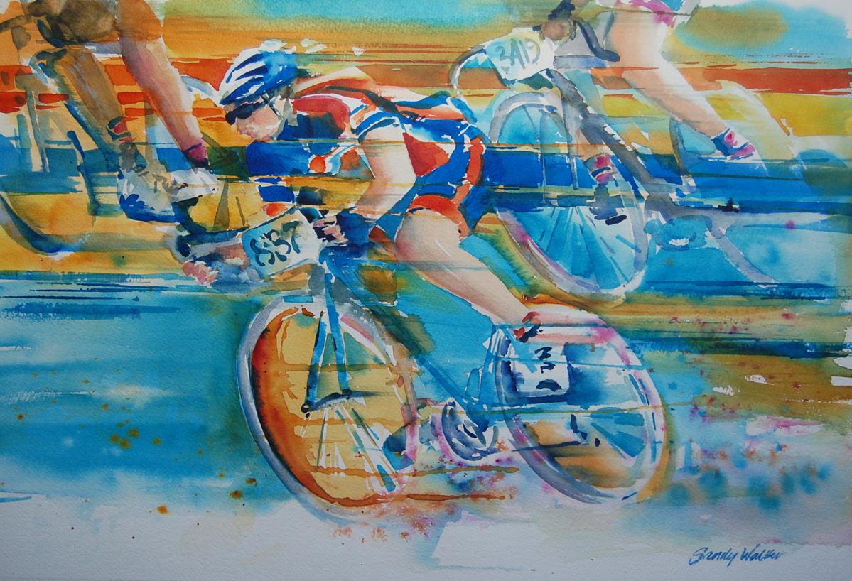El Tour Racers by  Sandy Walker - Masterpiece Online