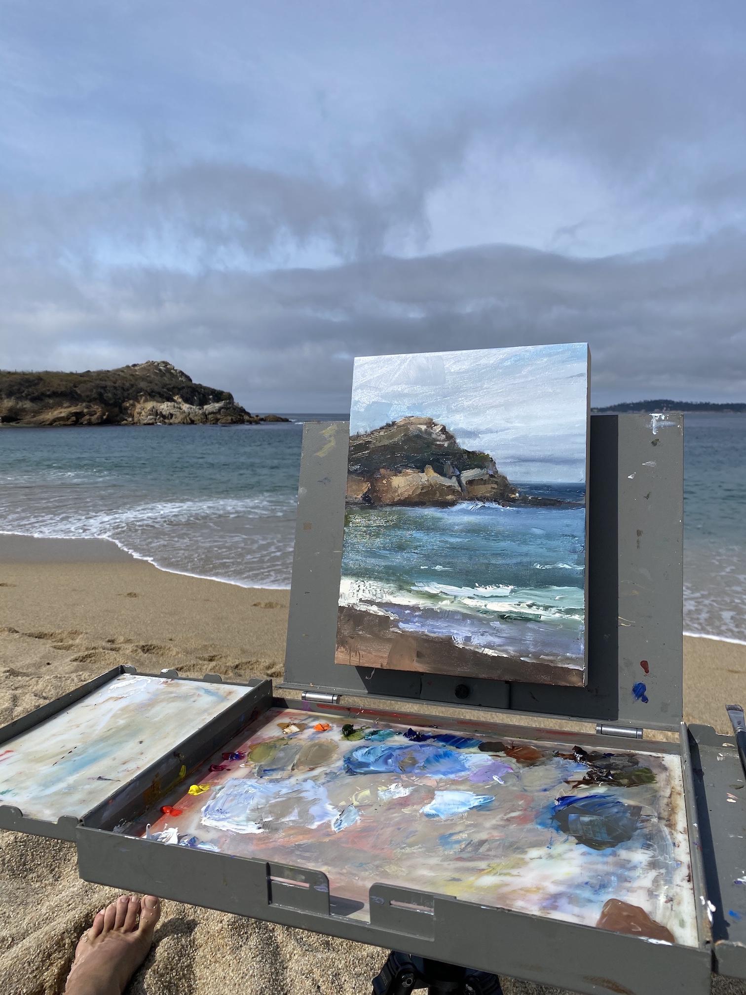 Plein Air and Sea by Mr. Matt Sievers - Masterpiece Online