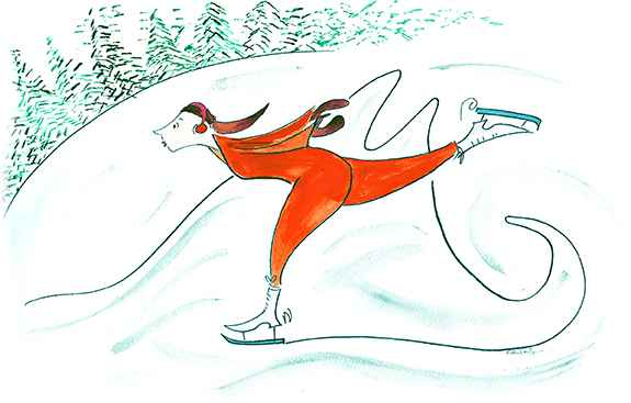 Skate by  Kate Feiffer - Masterpiece Online