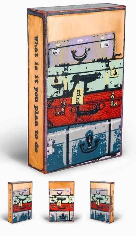 Bon Voyage #124 DROP ... by  Houston LLew - Masterpiece Online