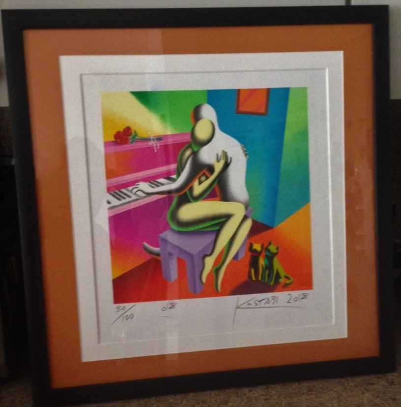 The Right Notes by  Mark Kostabi - Masterpiece Online