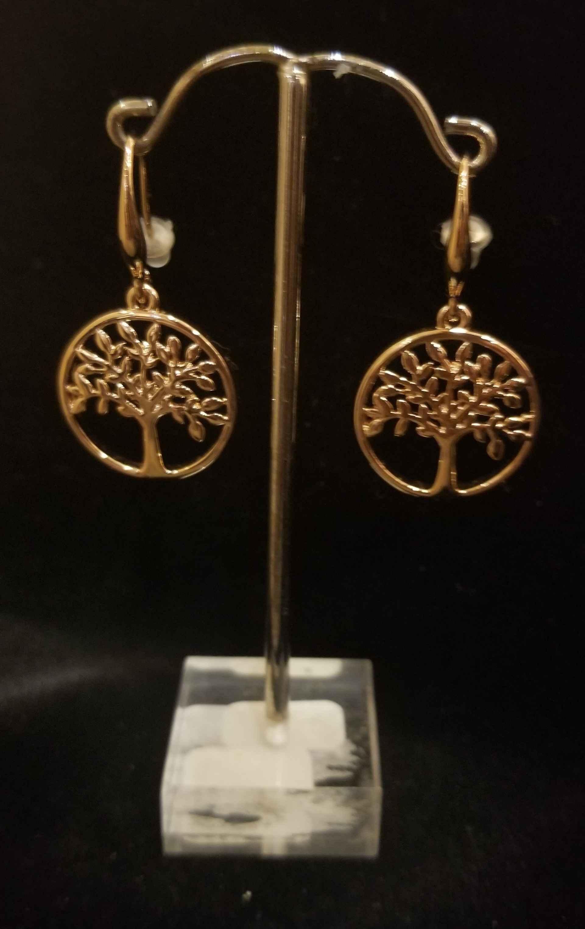 Earrings - Tree of Li... by  Gallery Pieces - Masterpiece Online