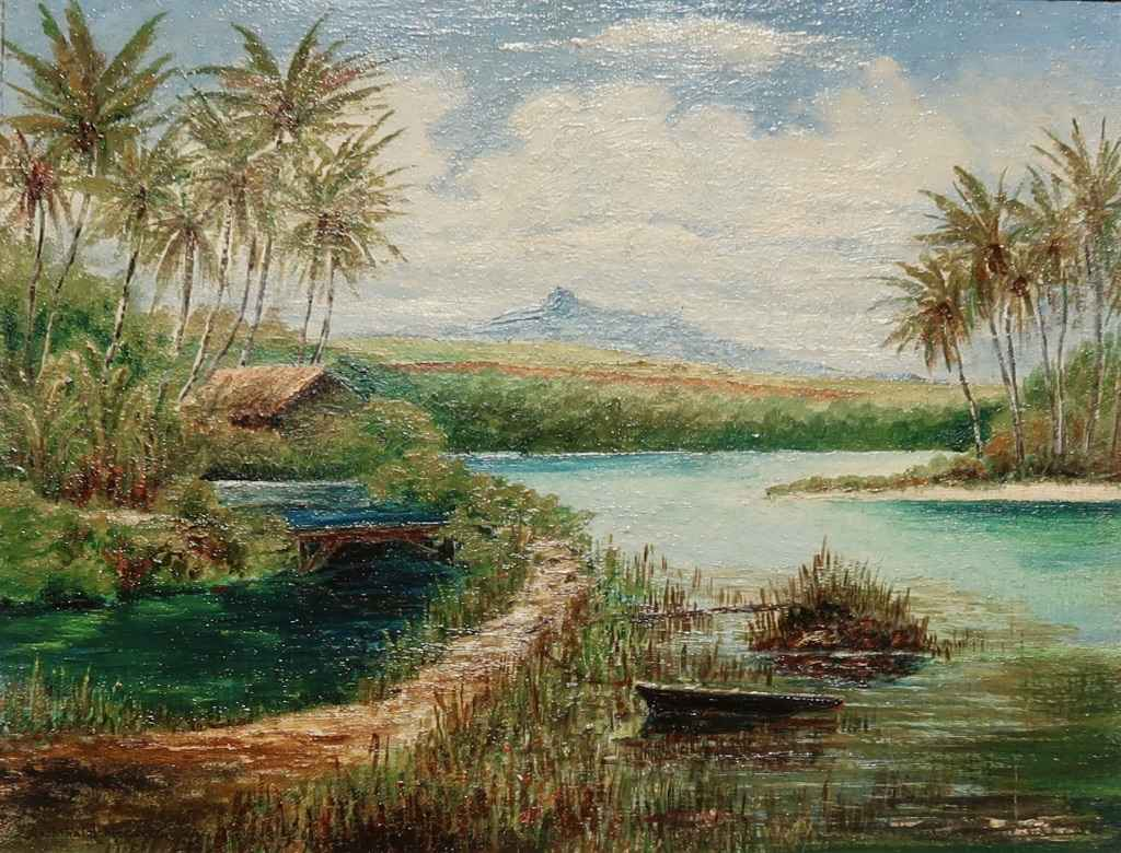 Sleeping Giant, Kauai by  Archibald Meacock - Masterpiece Online