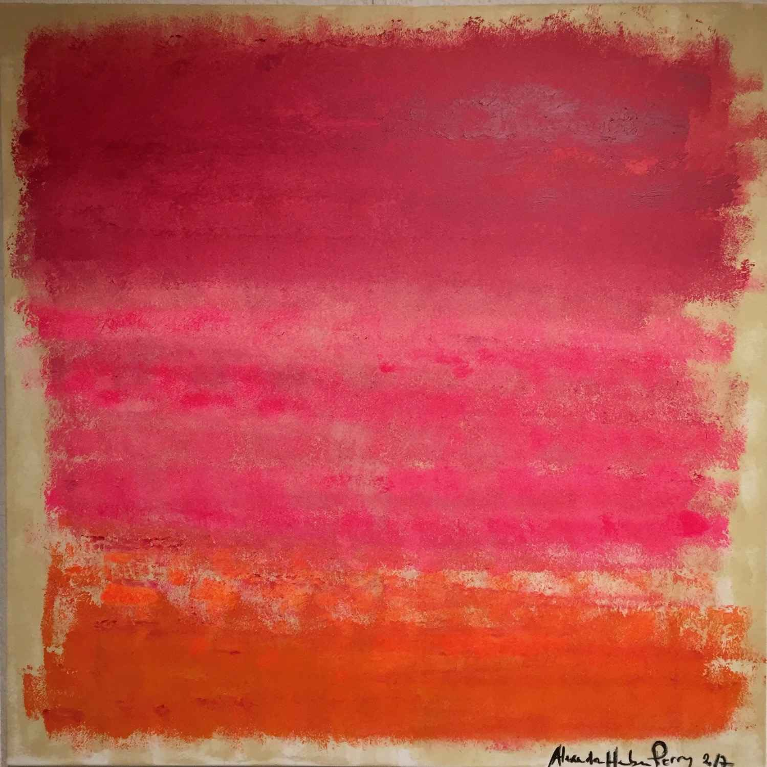 Fiery Pink 1 by  Alexandra HEUMBER PERRY - Masterpiece Online