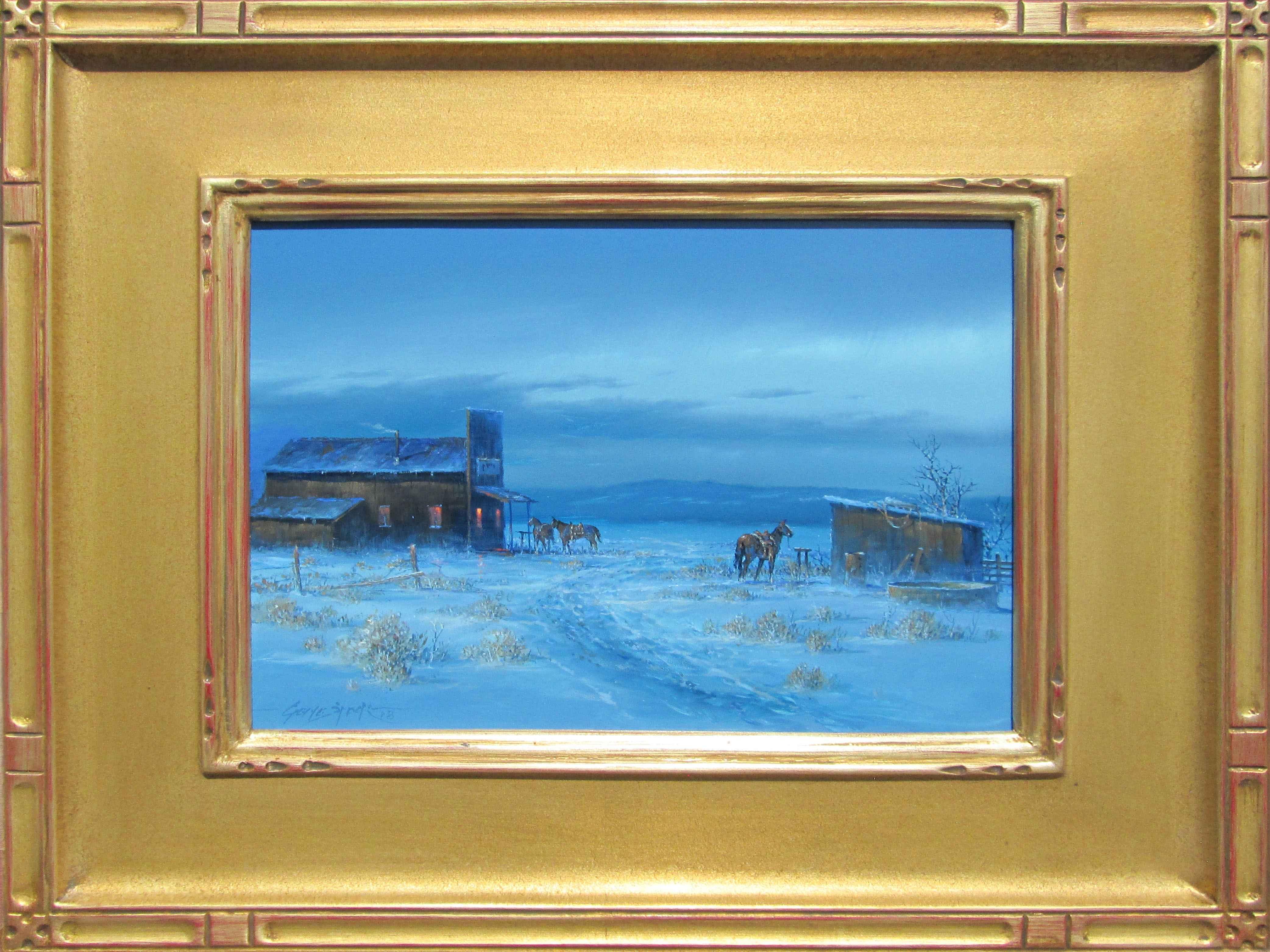 Winter Evening by  Gene Speck - Masterpiece Online