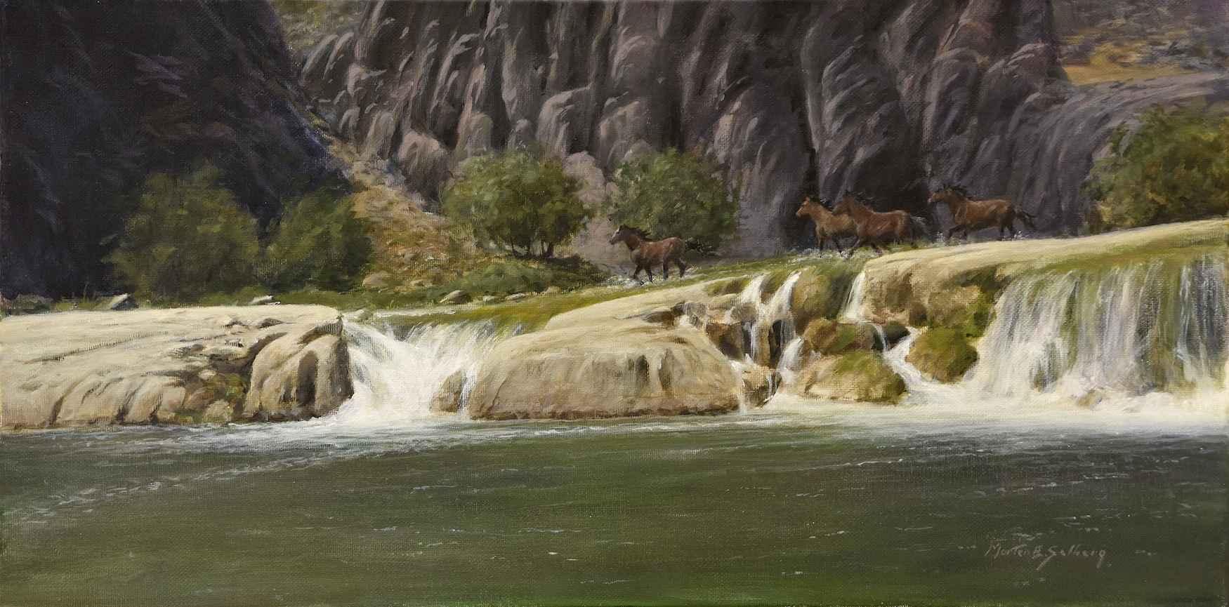 Wild Horse Canyon by  Morten E. Solberg - Masterpiece Online