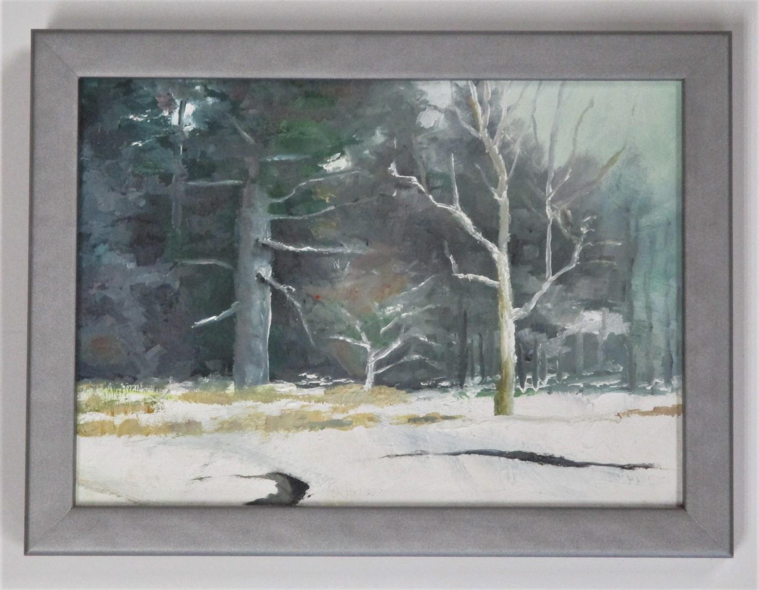 Stuck in the snow by  Robert Moore - Masterpiece Online