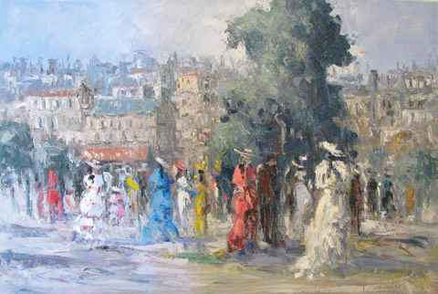 Parisian Ladies by  Fani  Parlapani  - Masterpiece Online