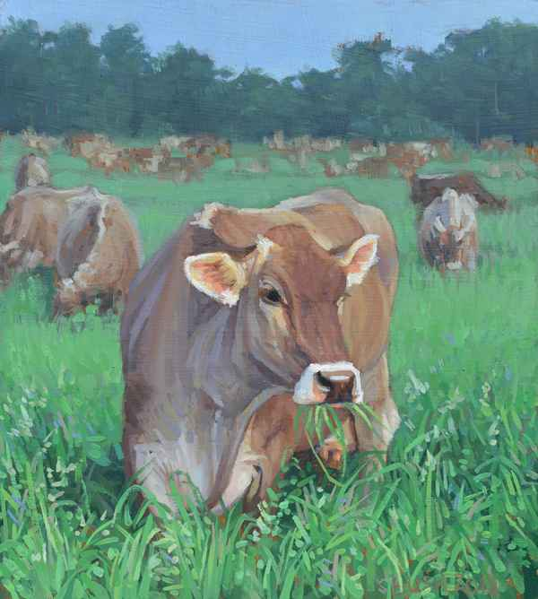 Greener Pastures by  Stephanie Bush - Masterpiece Online