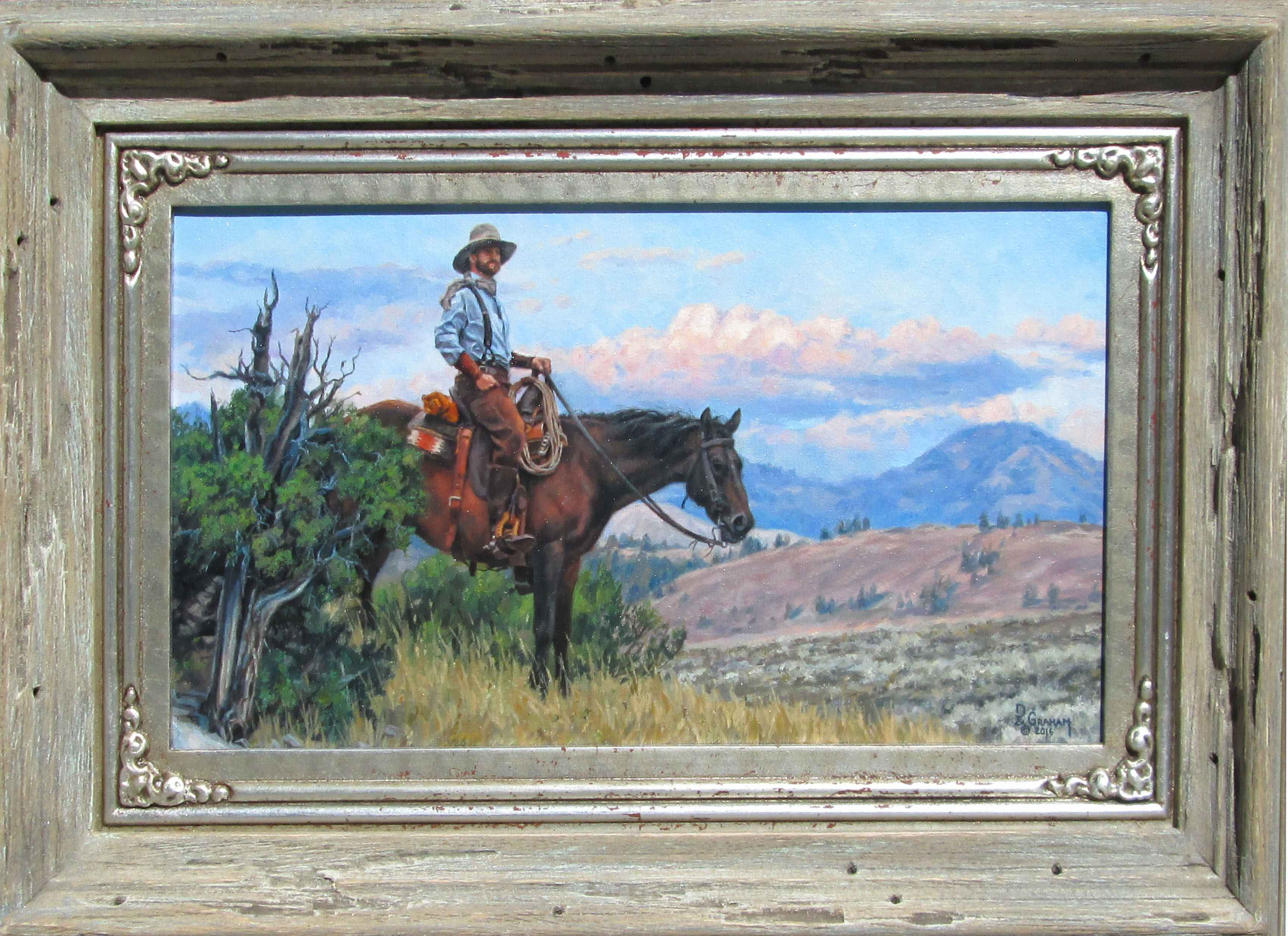 Scanning the Horizon by  David Graham - Masterpiece Online