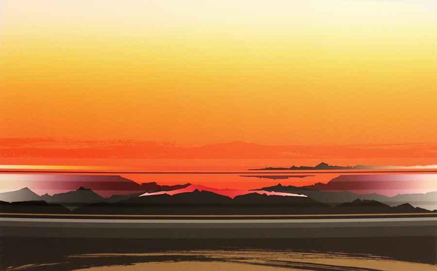 Untitled (Orange) by  Tetsuro Sawada - Masterpiece Online