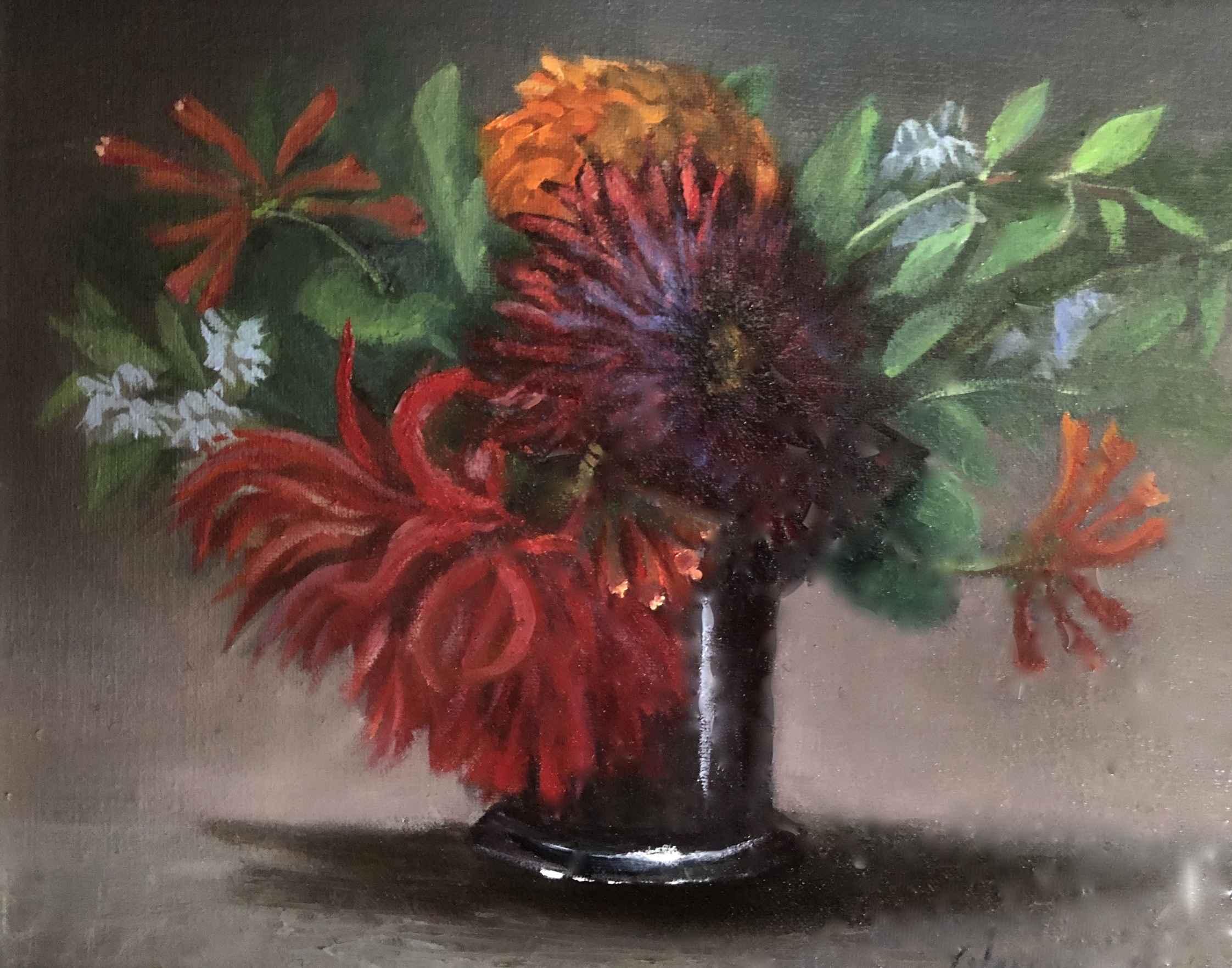 My Dahlias  by  Cary Jurriaans