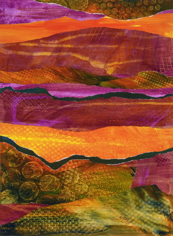 Desert Strata 2 by  Paula Weech - Masterpiece Online