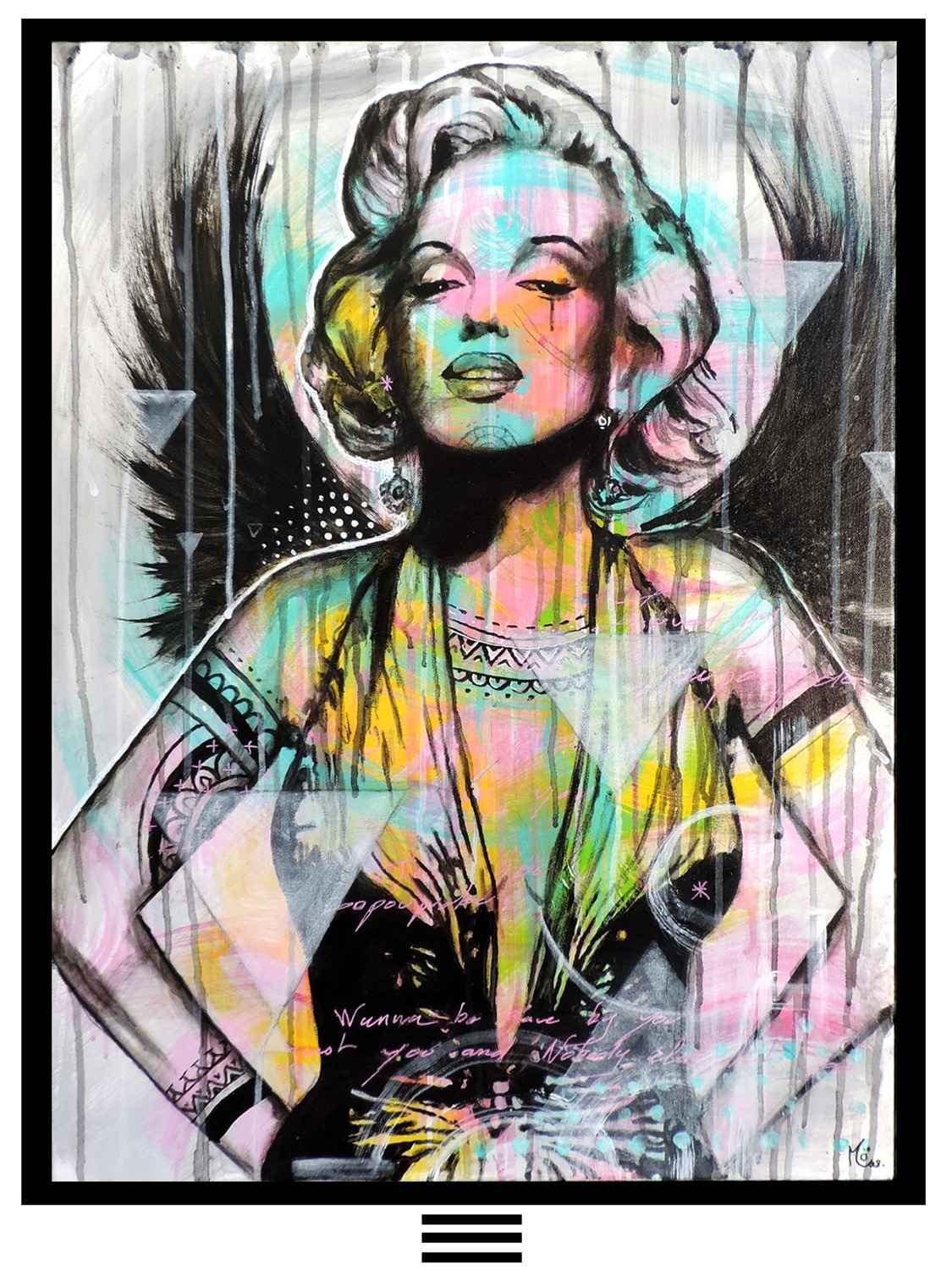 Marilyn In Paradise by   MÖ - Masterpiece Online
