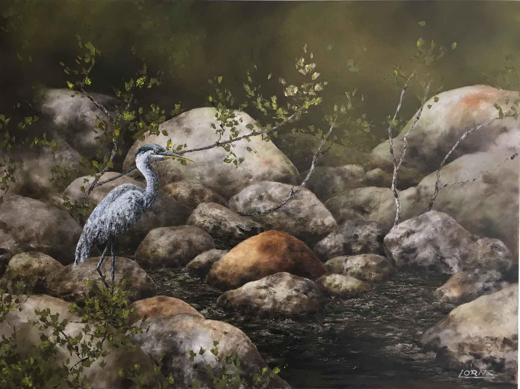 On the Rocks by Mr. Lorne McDermott - Masterpiece Online