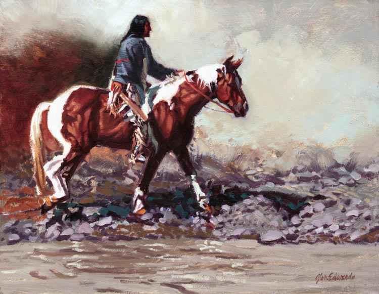 A NEW WORK- Rocky Fo... by  Glen Edwards - Masterpiece Online