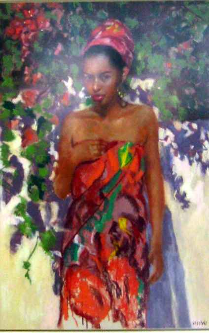 Bougainvillea by Mrs. Vishni Gopwani - Masterpiece Online