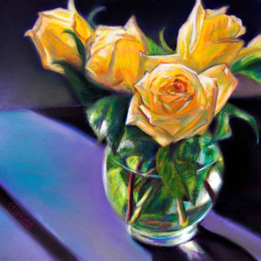 Radiant Roses by  Caroline S. Young - Masterpiece Online