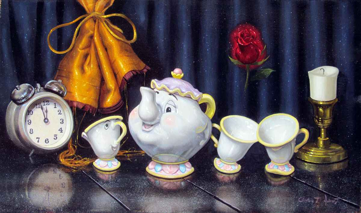 Time For Tea by  Clinton T. Hobart - Masterpiece Online