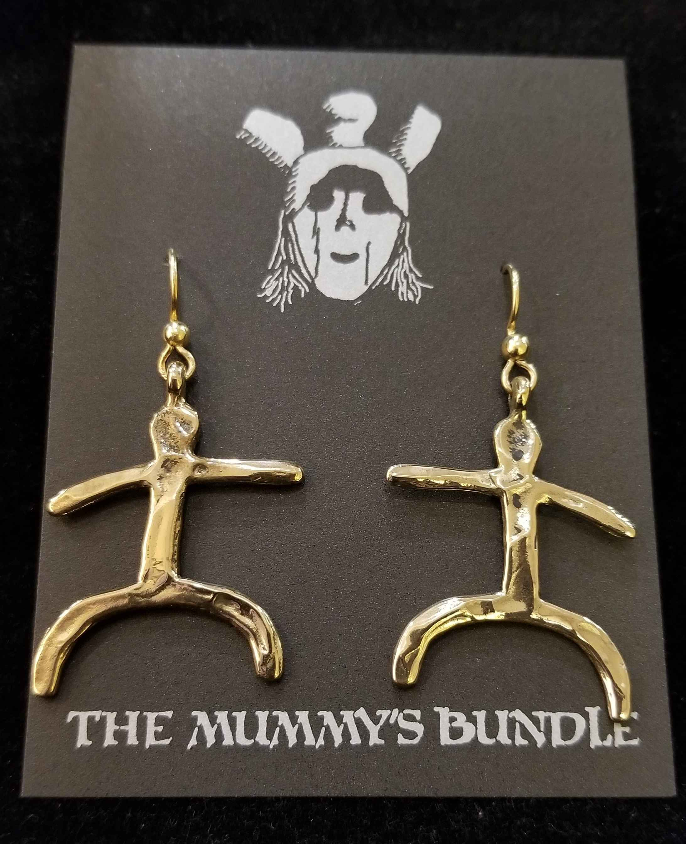 Bowlegged Man Brass E...  by  Mummy's Bundle