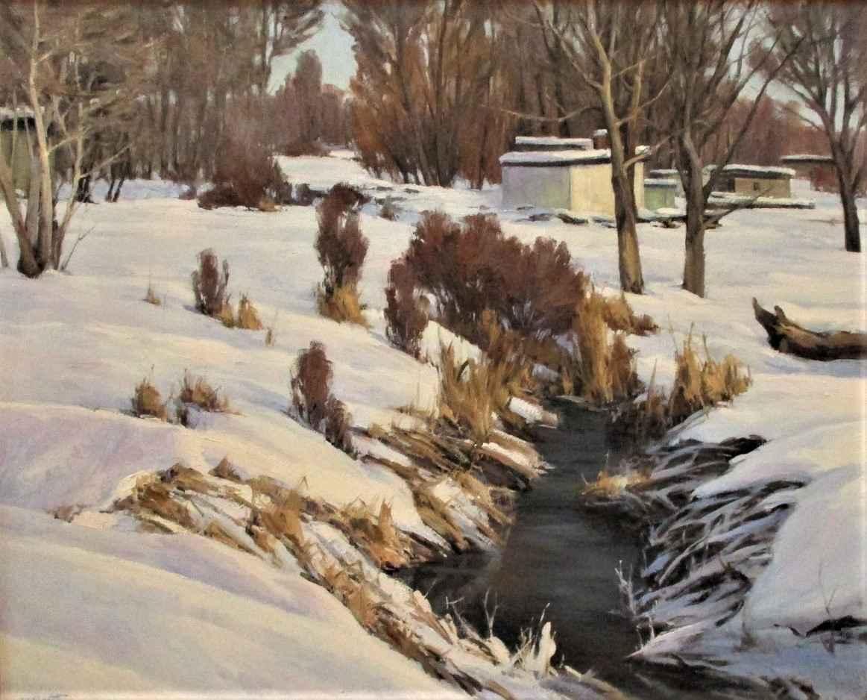 Winter Creek by  Josh Elliott - Masterpiece Online