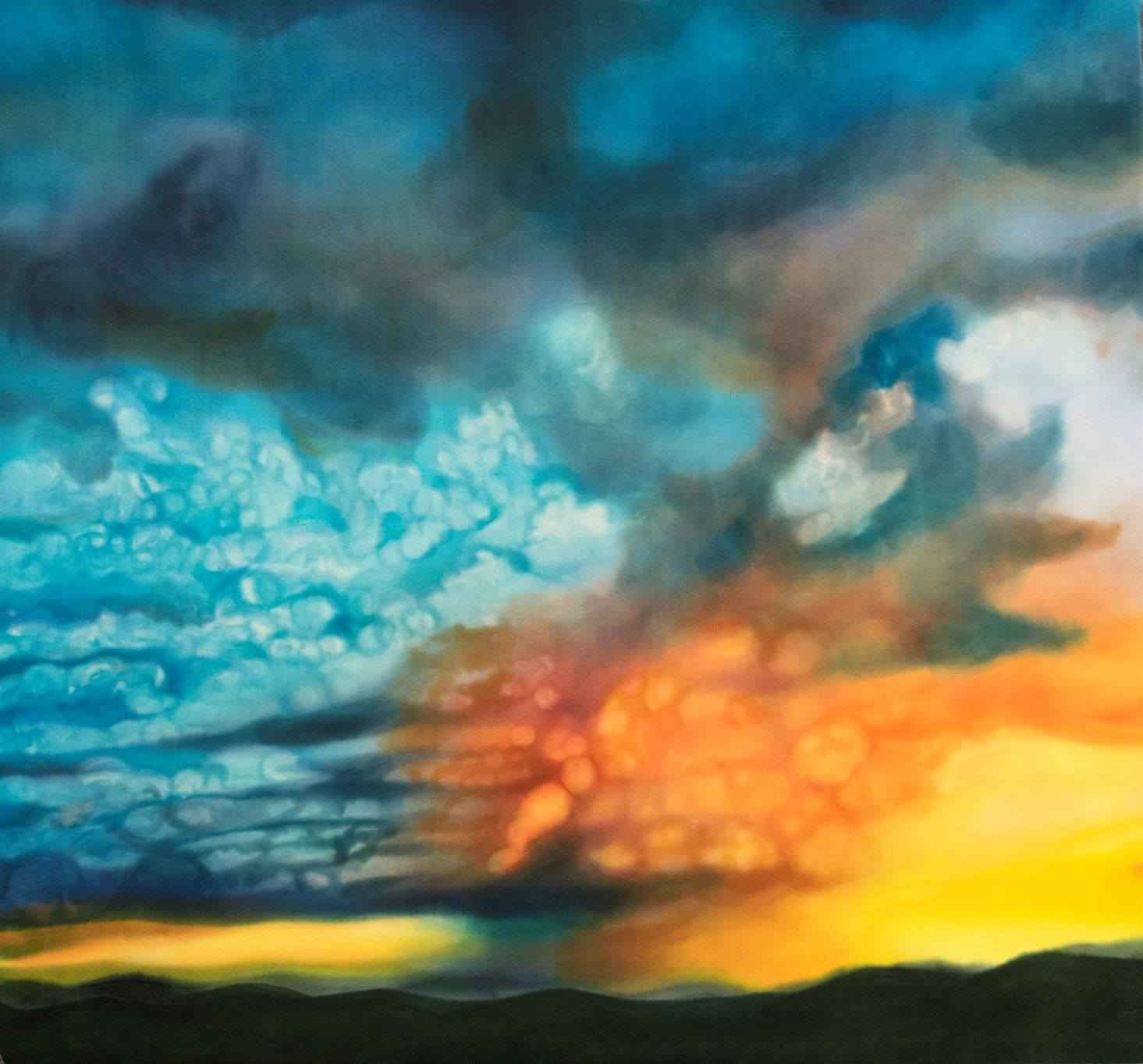 Fire in the Sky by  Diane Lawrence - Masterpiece Online