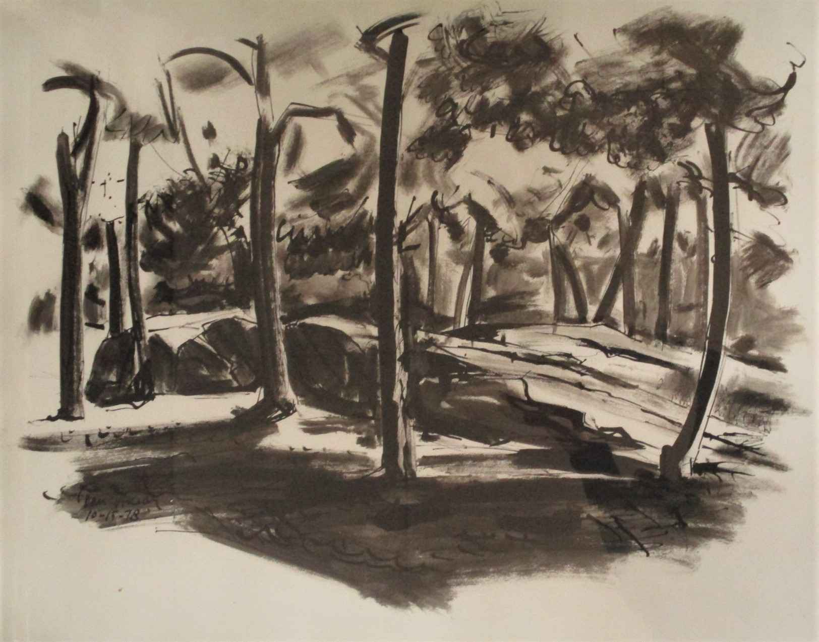 Unknown  (trees) by  Tom Hardy - Masterpiece Online