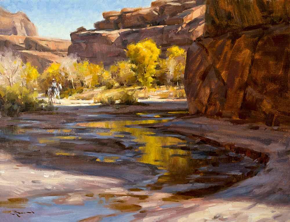 Autumn Retreat represented  by  Mitch Baird