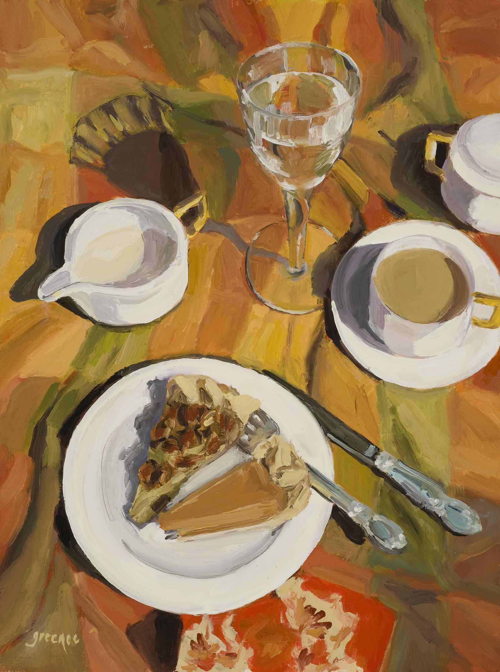 Just Give Me Two Smal... by  Gail Greenoe - Masterpiece Online