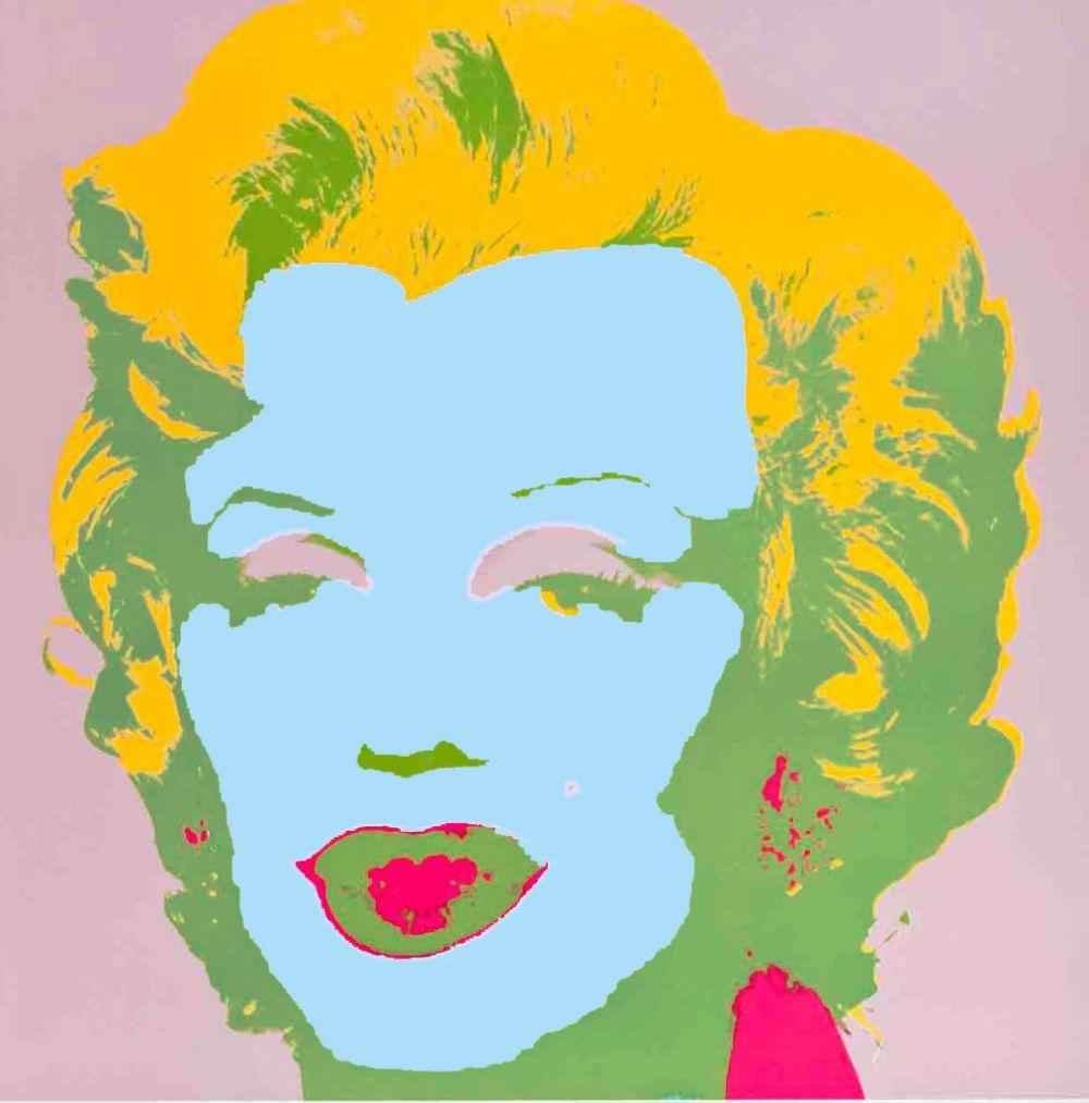 Blue Marilyn 11.28 by  Andy Warhol - Masterpiece Online