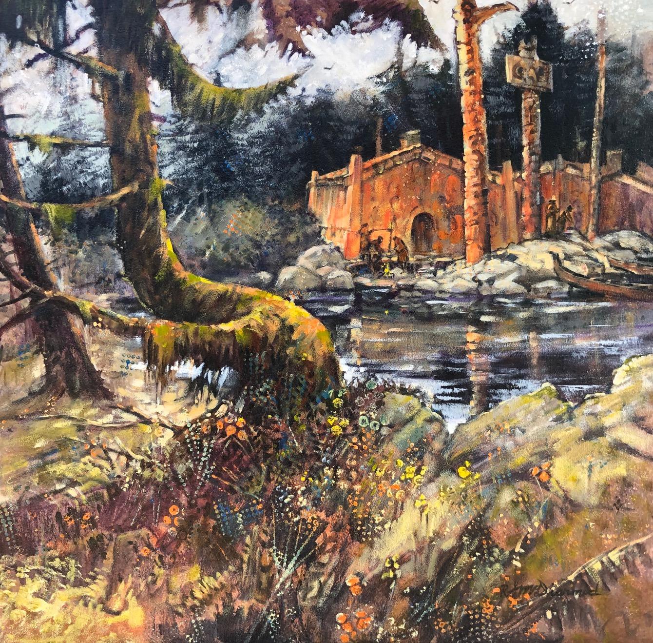 Echos of Haida Gwaii by  Rick McDiarmid - Masterpiece Online