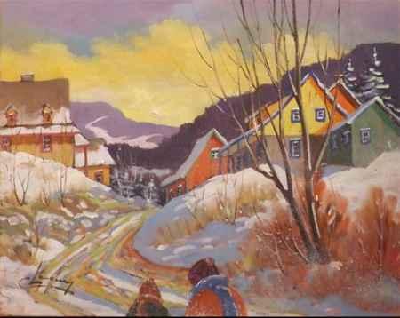 Promenade 24550 by  Claude Langevin - Masterpiece Online