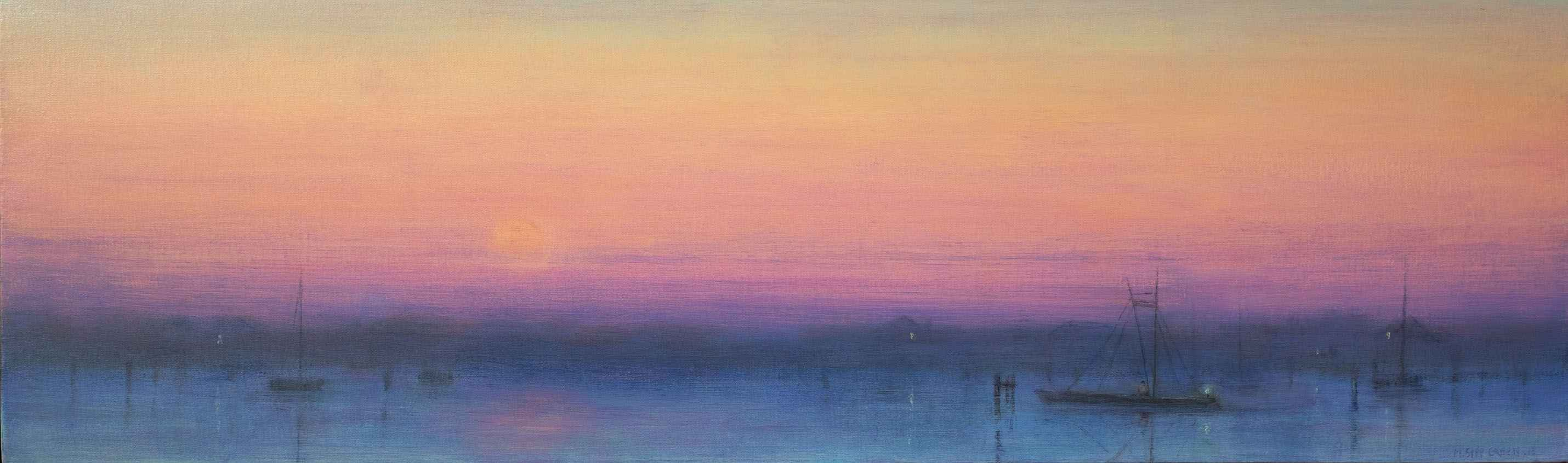 At Twilight in Edgart... by  Mary Sipp Green - Masterpiece Online
