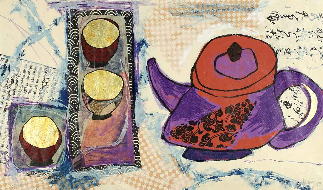 3 Cups of Tea by  Karyn Young - Masterpiece Online