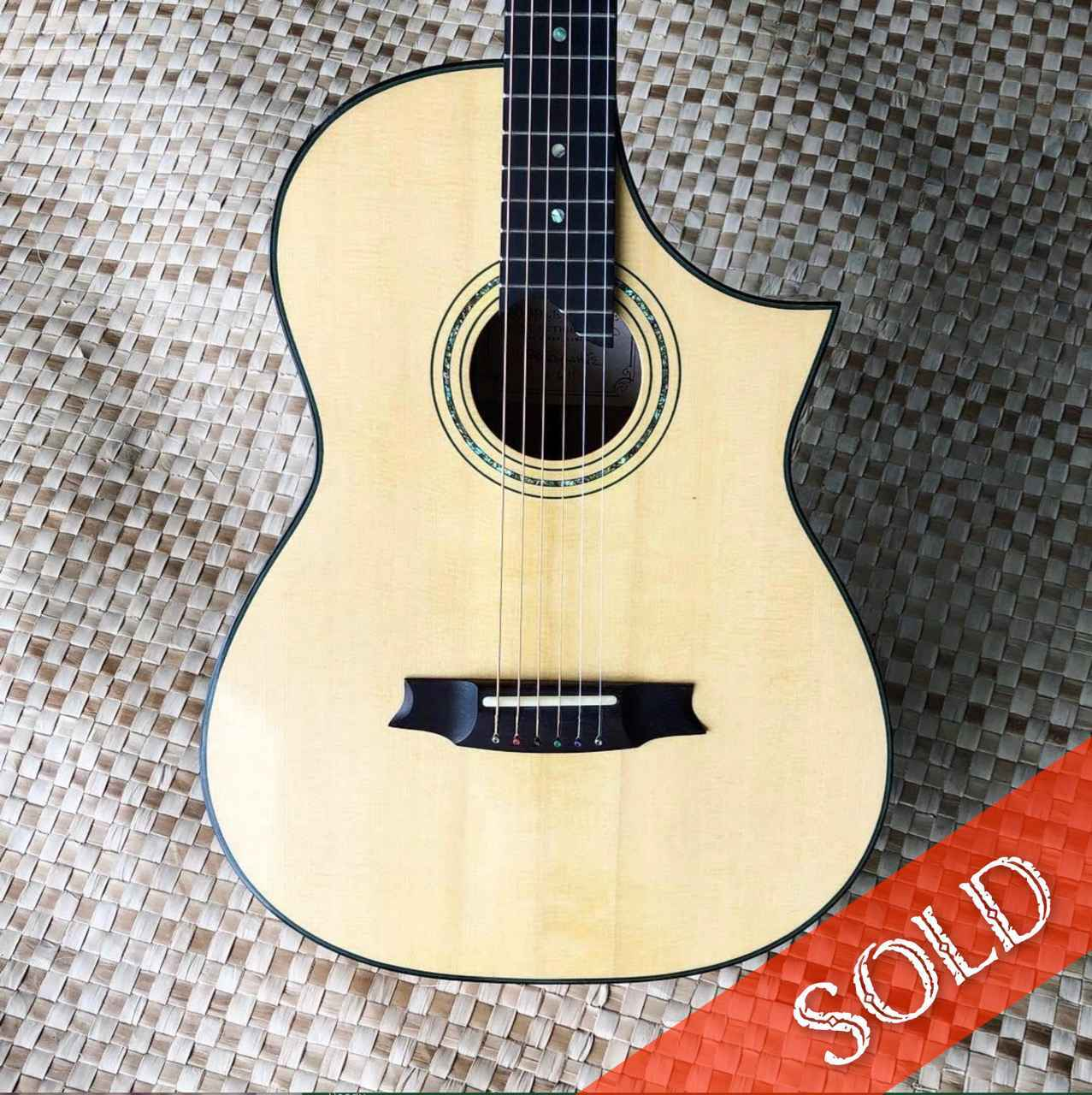 Ali'i Acoustic Steel ... by  Woodley White - Masterpiece Online