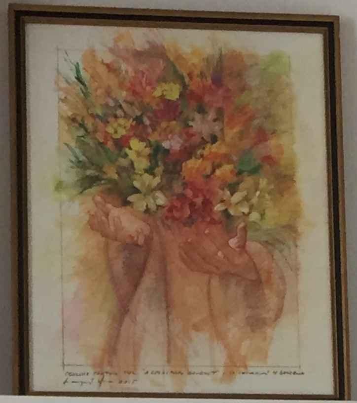 A Spiritual Bouquet by  Tim Langenderfer - Masterpiece Online