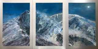 Elevation: Silvery Mo...  by  Cynthia McLoughlin