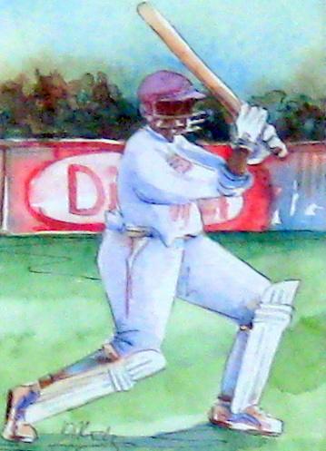 Caribbean Cricket by Ms. Margaret Rodriguez - Masterpiece Online