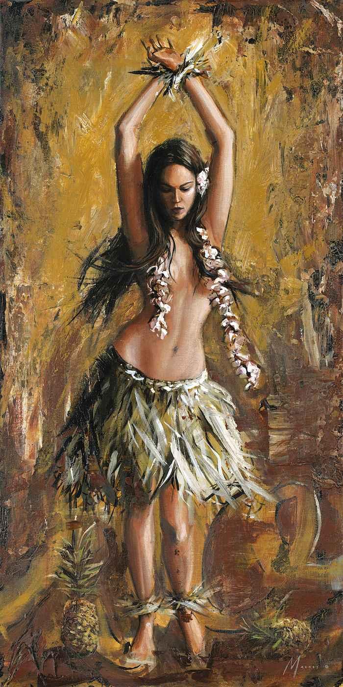 Pineapple Hula by  Shawn Mackey - Masterpiece Online