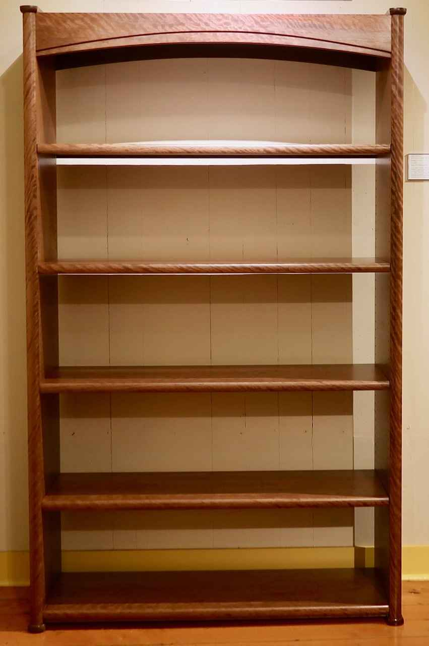 Curly Ohia Book Case by Mr. Marcus Castaing - Masterpiece Online