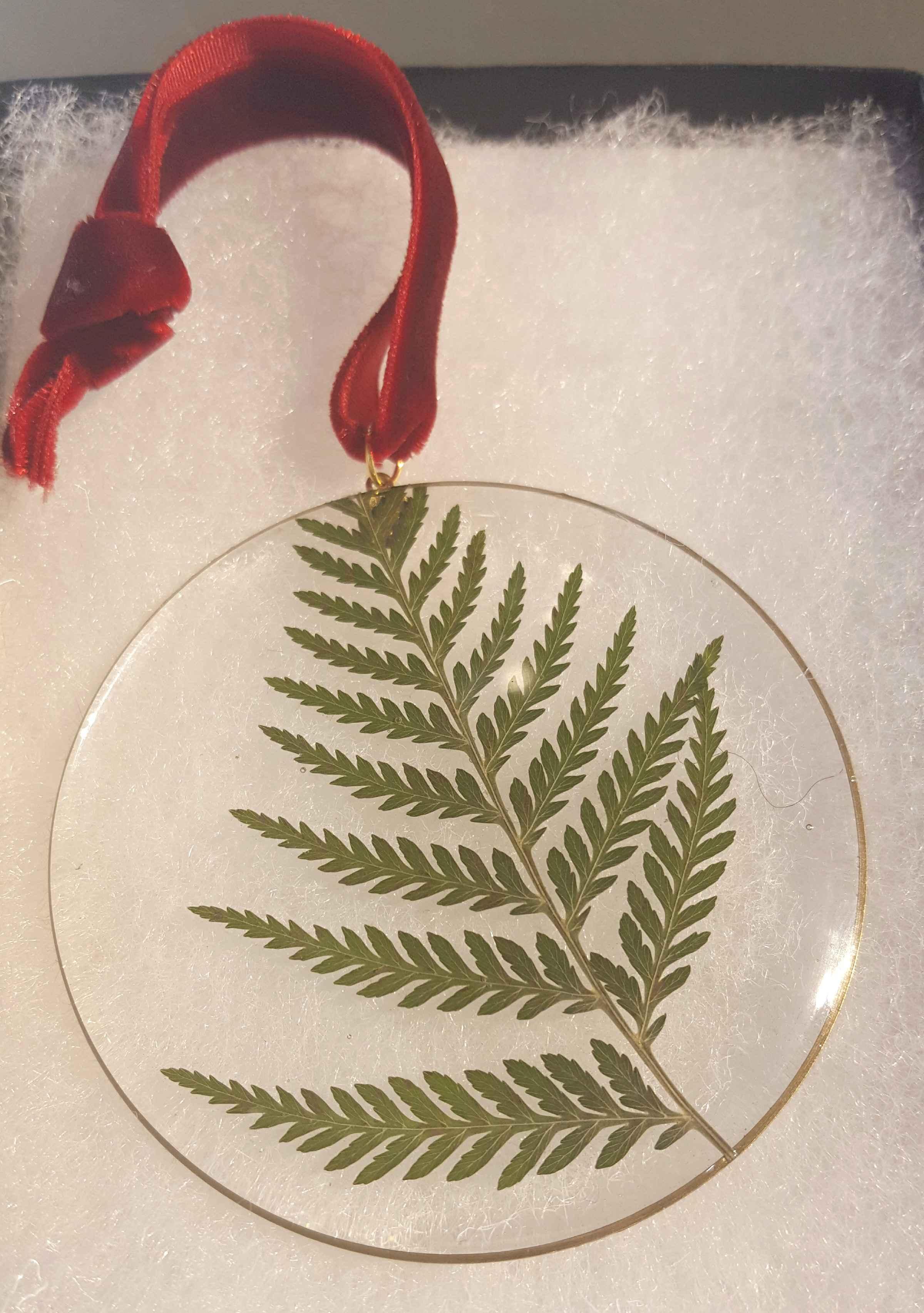 Fern Ornament, Duplika  by   Artisan Jewelry