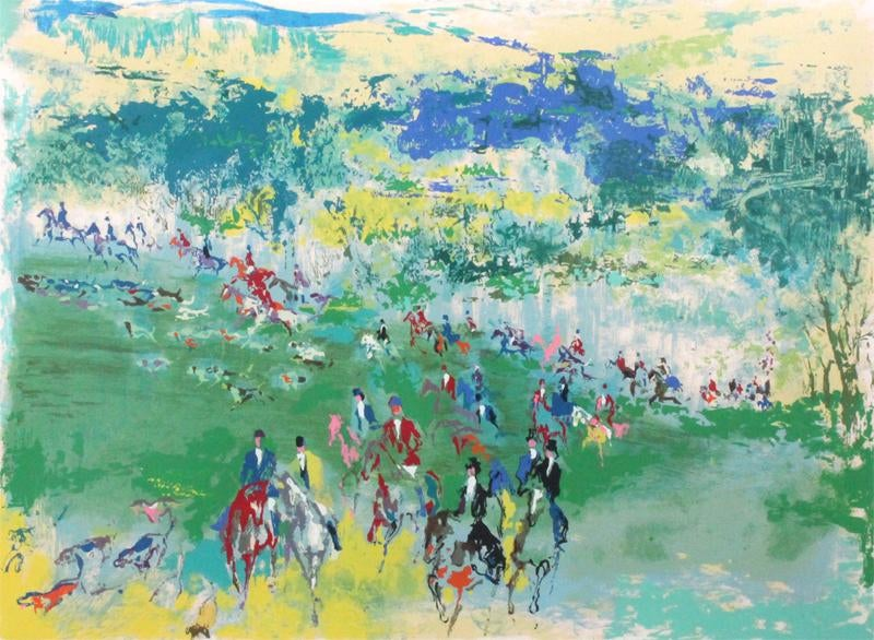 Fox Hunt by  Leroy Neiman - Masterpiece Online