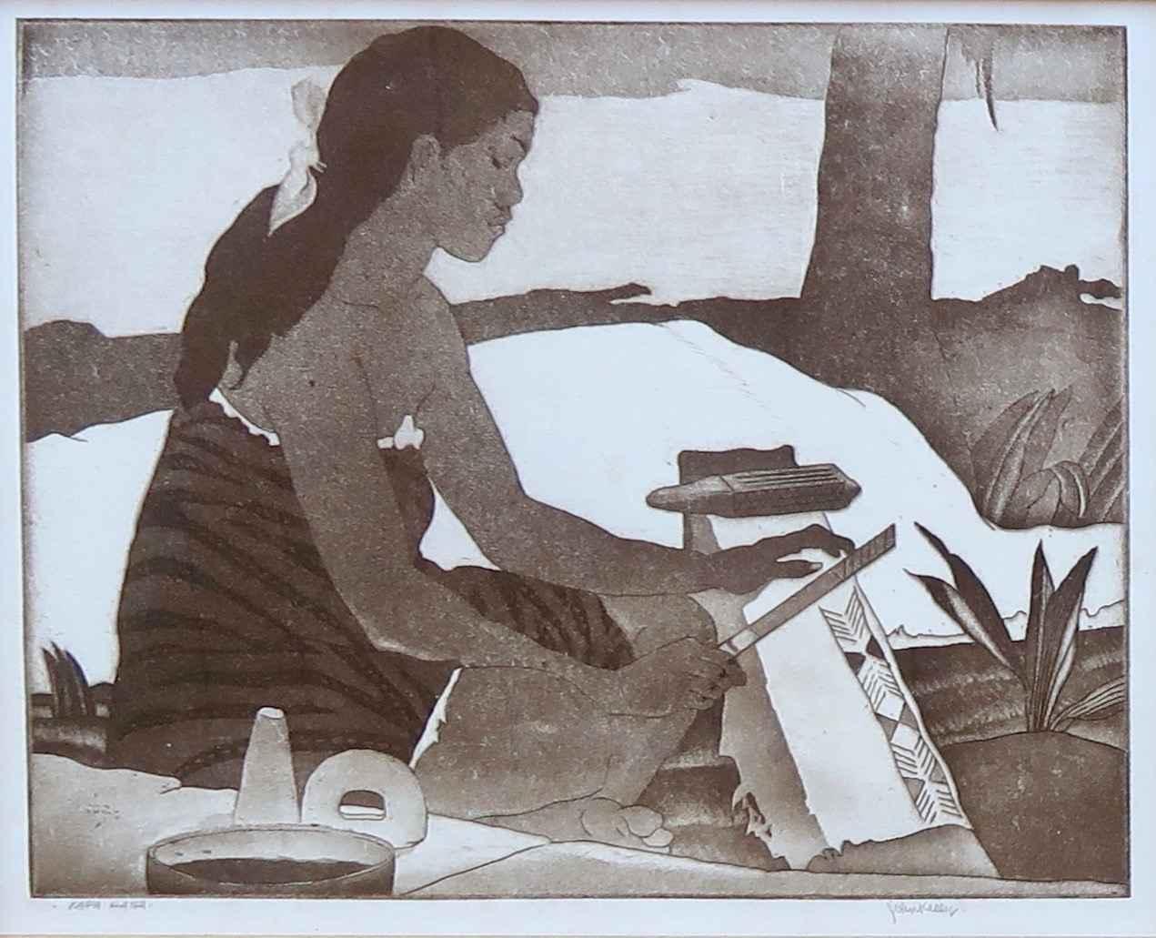 Kapa Hana by  John M. Kelly (1878-1962) - Masterpiece Online