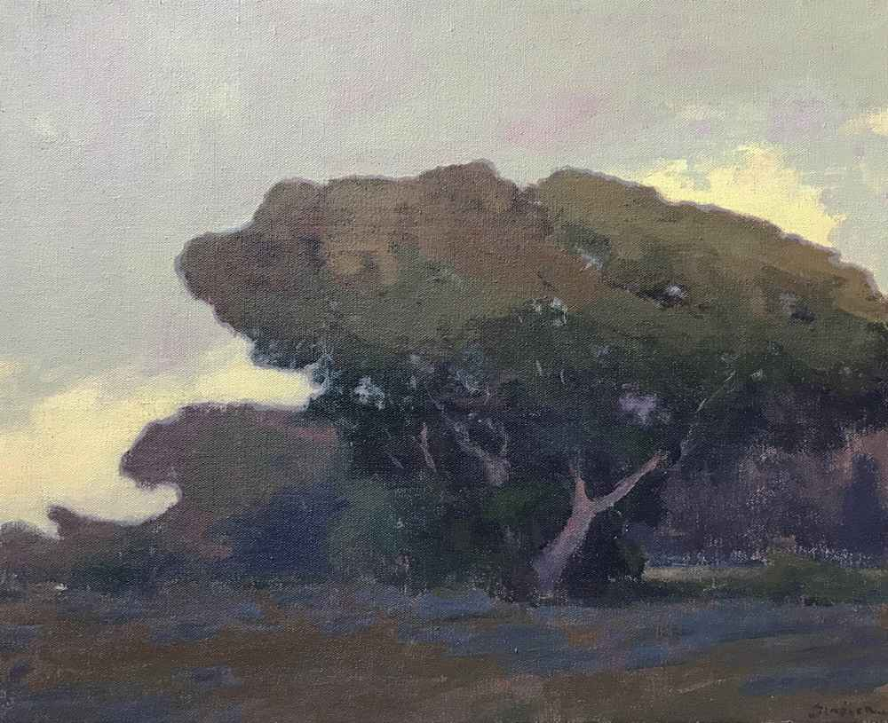 Tree Cloud with Lupine by  Brian Sindler - Masterpiece Online