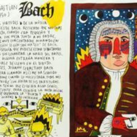101 Bach by  Ricardo Cavolo - Masterpiece Online